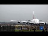 А380-800 посадка